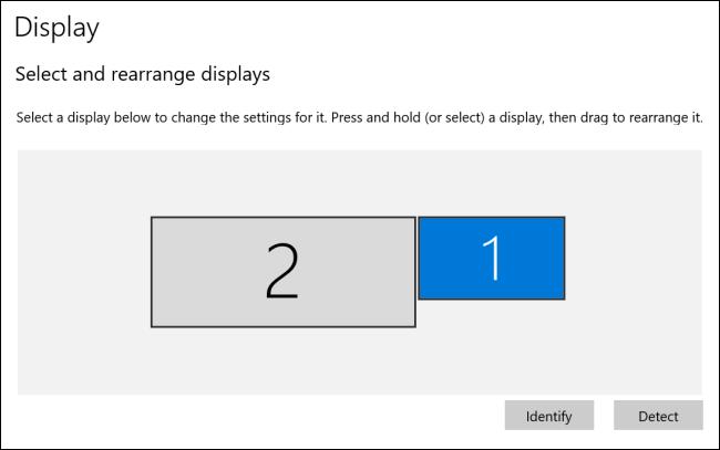تمت إعادة ترتيب العروض في Windows 10