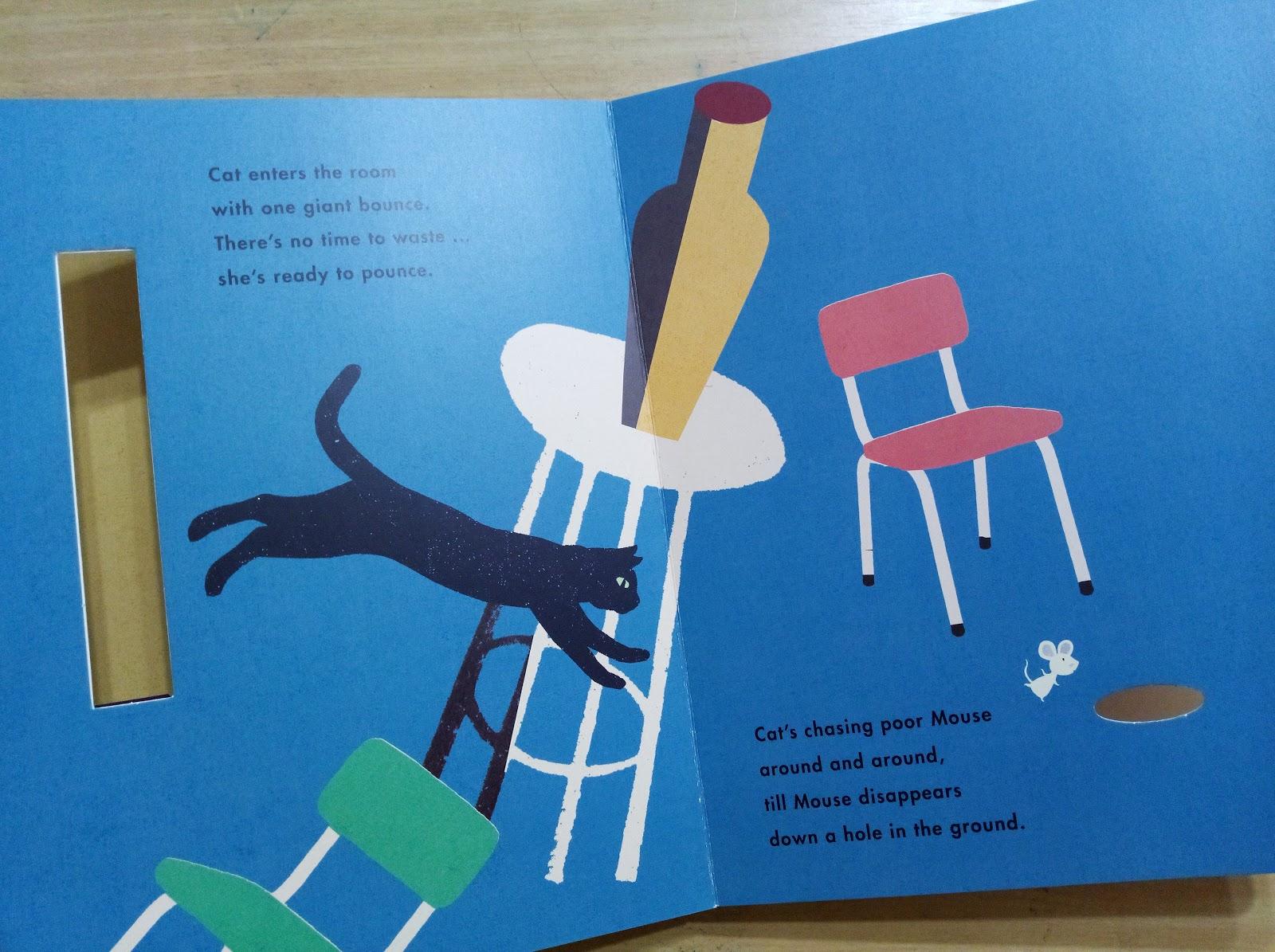 [英文繪本分享] Cat & Mouse / Britta Teckentrup