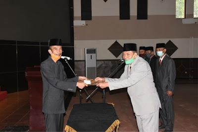 Wakil Wali Kota Banjar lantik kepengurusan Baznas Kota Banjar. (Foto : Instagram @diskominfo_kotabanjar_jabar)