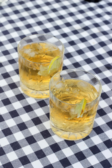 Ginger and whiskey