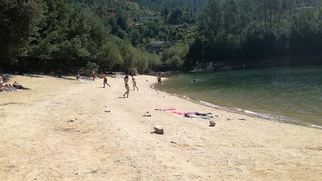 Praia Fluvial Albufeira Gerês