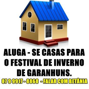 ALUGA - SE CASAS PARA O FIG 2016