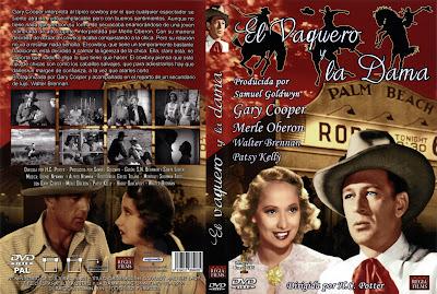 Carátula, Cover, Dvd:El Vaquero y la Dama | 1938 | The Cowboy and the Lady