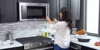 kitchenaid microwave kmhc319ess