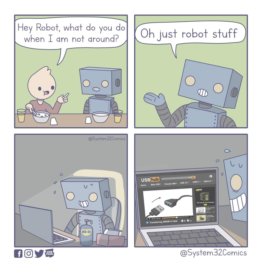 just robot stuff