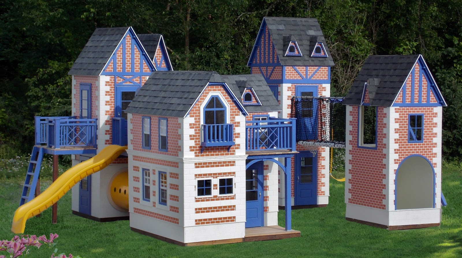 Do It Yourself Home Design: Lilliput Play Homes Custom Children's