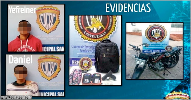 Detenidos en el Táchira por atracar con pistolas de juguete