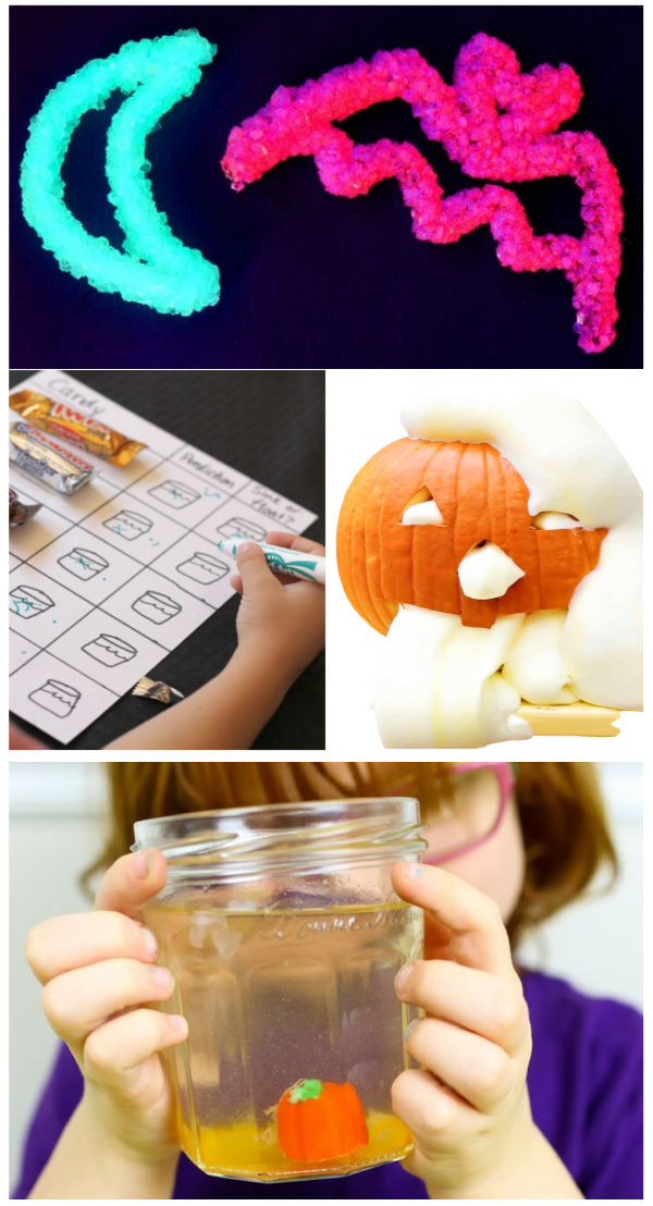 """25+ """"spooky"""" science experiments for kids that are perfect for Halloween. #halloween #halloweenscienceexperiments #spookyscienceforkids #scienceexperimentskids #growingajeweledrose"""