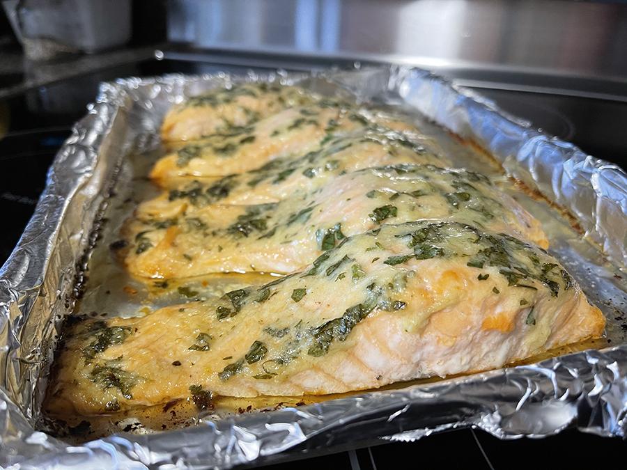 Lemon and Garlic Salmon