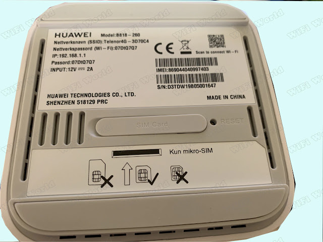 Unlocked Huawei 4G Router 3 Prime B818-260 LTE CAT19 Up to 1.6Gbps Huawei LTE CPE WiFi Router With Sim Card Slot