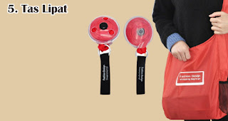 Tas Lipat cocok untuk dijadikan souvenir