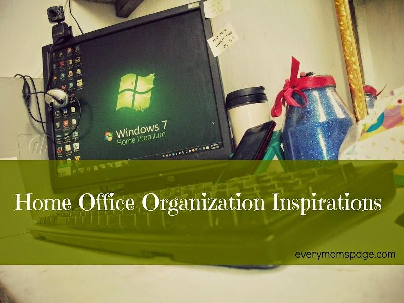Home Office Organization Inspiration