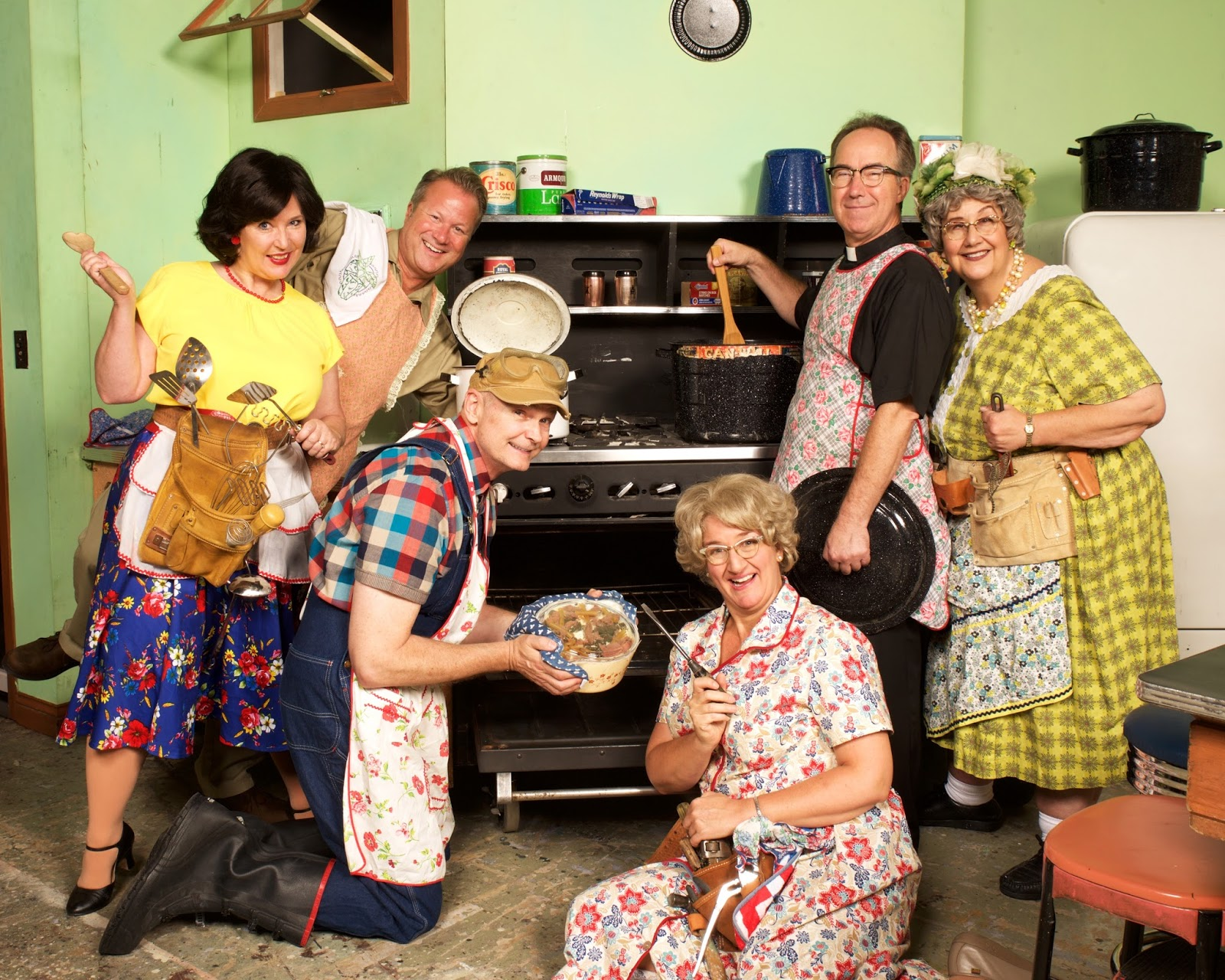 Minnesota Theater Love: The Church Basement Ladies In Rise Up, O Men At  Plymouth Playhouse