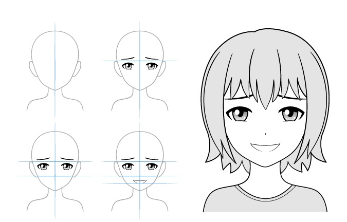 Gloating contoh gambar gadis anime