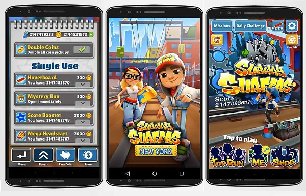 Download Subway Surfers NYC New York USA Modded Apk Game