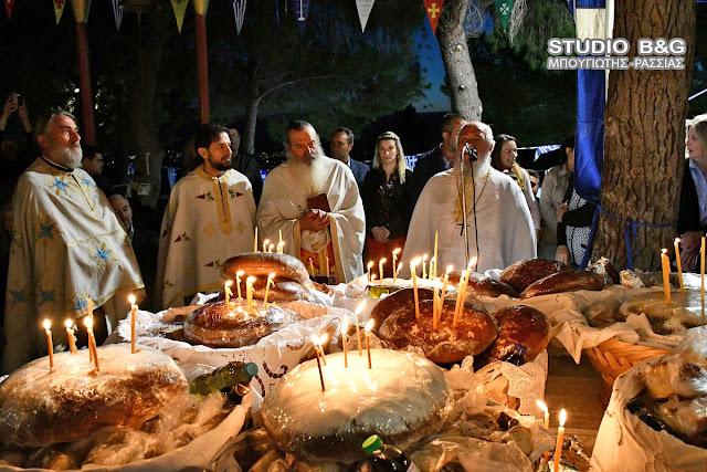 Η Εορτή του Αγίου Ιωάννου του Θεολόγου στη Μιδέα Αργολίδος