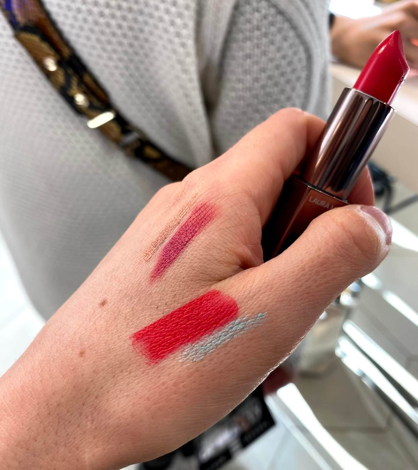 Laura Mercier Rouge Essentiel Rose Mandarine swatch