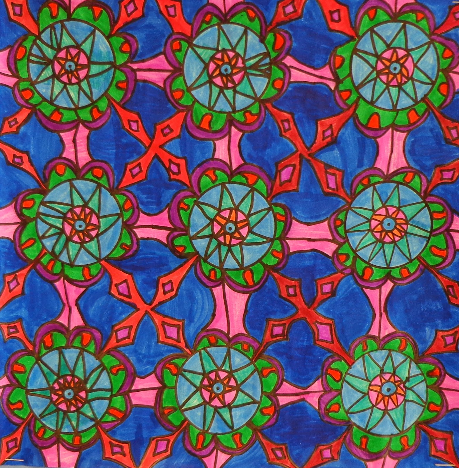 The Art Factory: Islamic Tile Designs