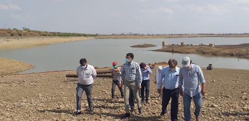 Divisional-Commissioner-राजघाट-में-पर्याप्त-पानी-तंगी-नहीं-होगी-गर्मी -में