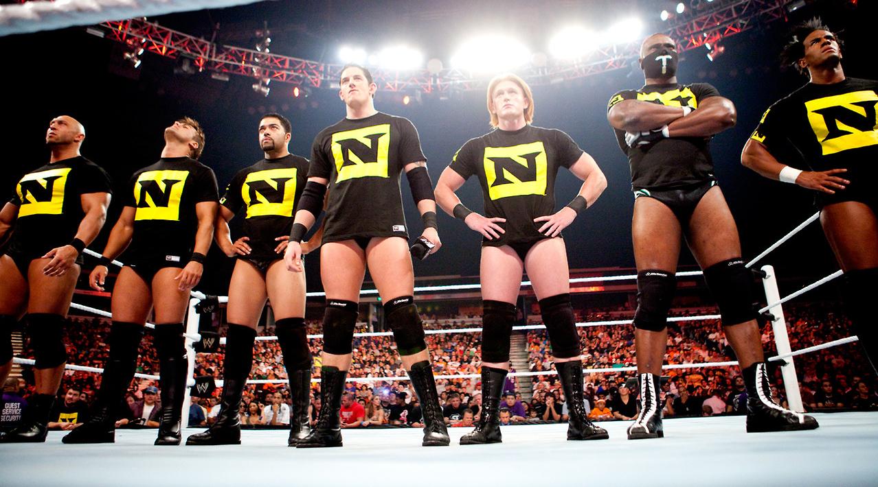 WWE está fazendo documentário sobre a The Nexus
