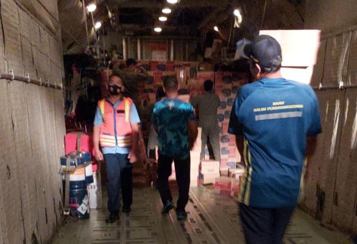 Panglima TNI Kirim Bantuan Untuk Korban Bencana Alam di NTT