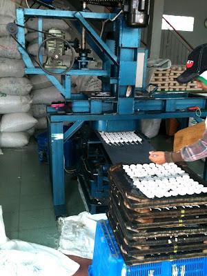 mesin catak kerupuk keriting mawar