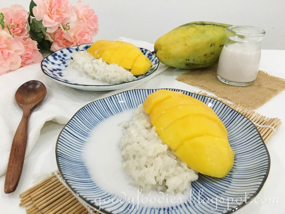 GoodyFoodies: Recipe: Mango Sticky Rice (Thai dessert)