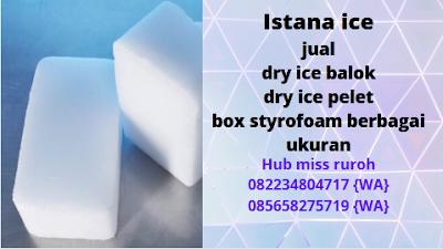 Jual Dry ice Murah Jakarta selatan