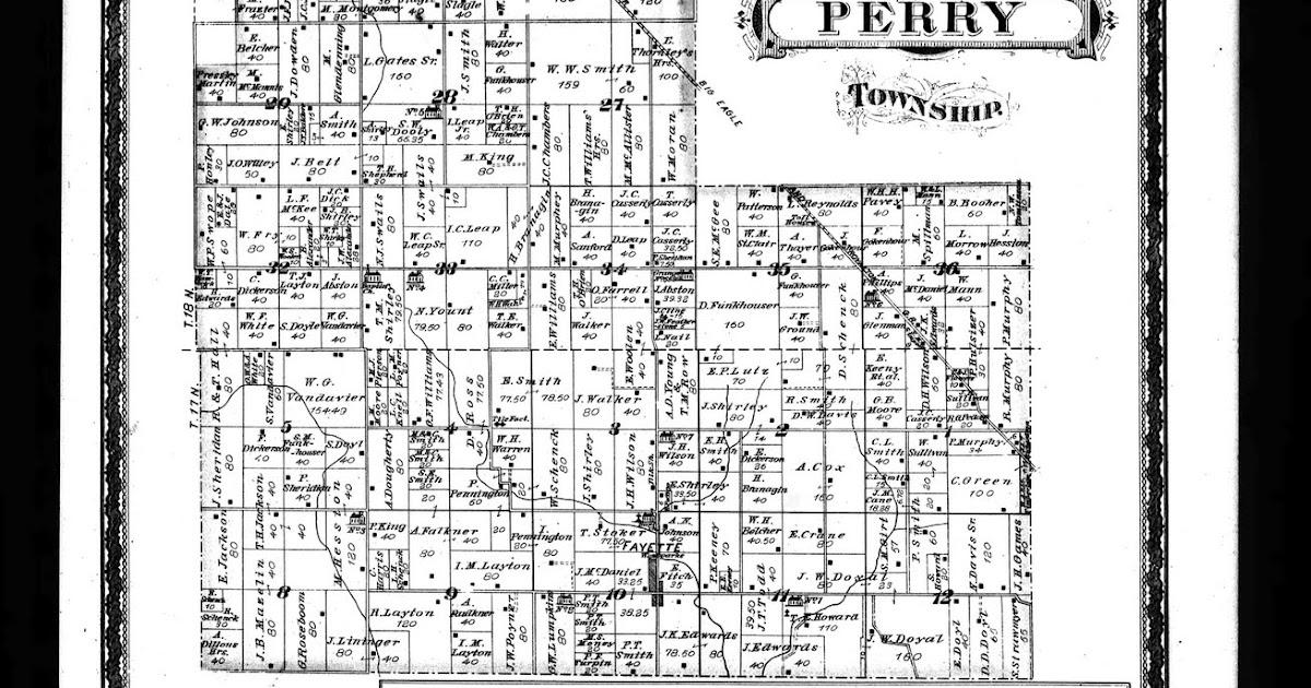Prairie Indiana Map Conner