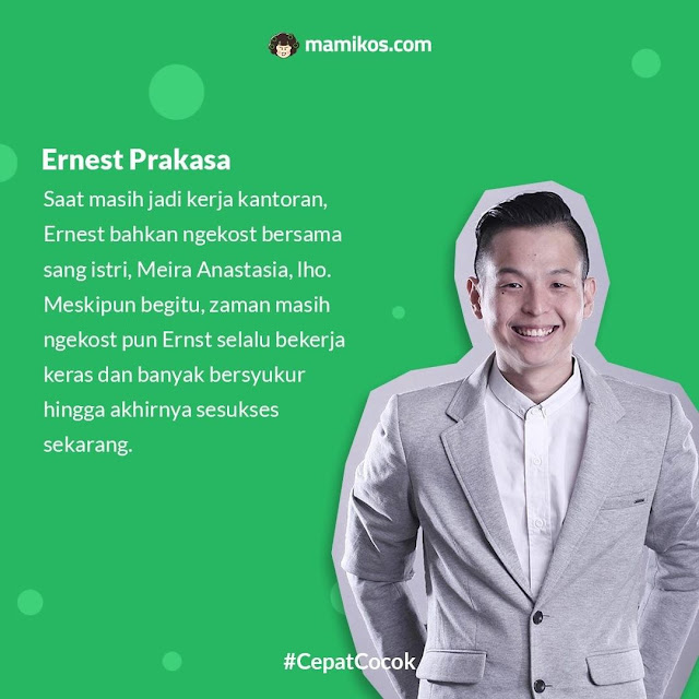 Ernest Prakasa Mantan Anak Kost