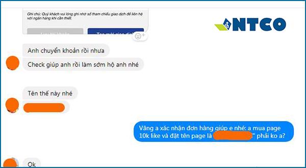 feedback mua fanpage facebook