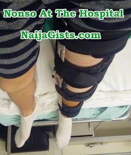 nonso diobi unable to walk