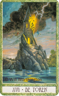 The druidcraft tarot The Tower