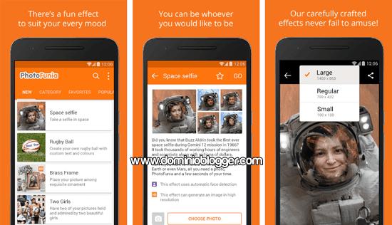 PhotoFunia para Android