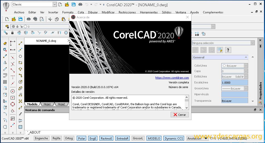 CorelCAD 2020 PC Full Español