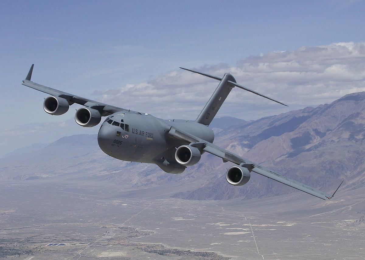 C-17 Globemaster III Tactical Transport Aircraft