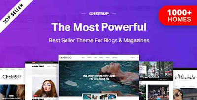 CheerUp v6.1.1 - Blog / Magazine - WordPress Blog Theme