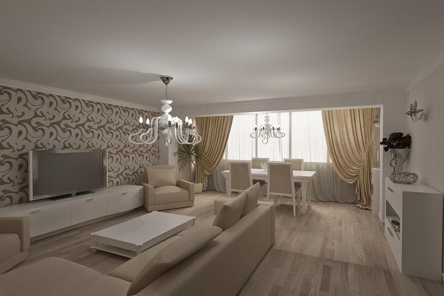 Design interior living apartament bucuresti amenajari for Design interior living apartament
