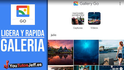 descargar gallery go de google fotos