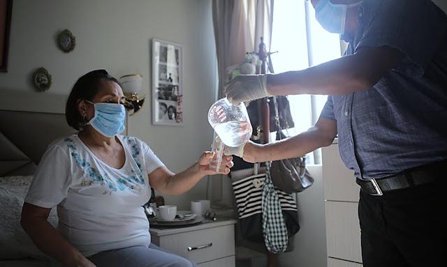 Al menos 400 pacientes fueron dados de alta epidémica de coronavirus