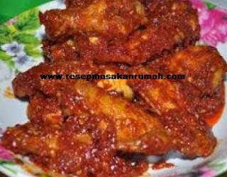 Resep Ayam Goreng Pedas Bumbu Merah Enak Lezat dan Sederhana