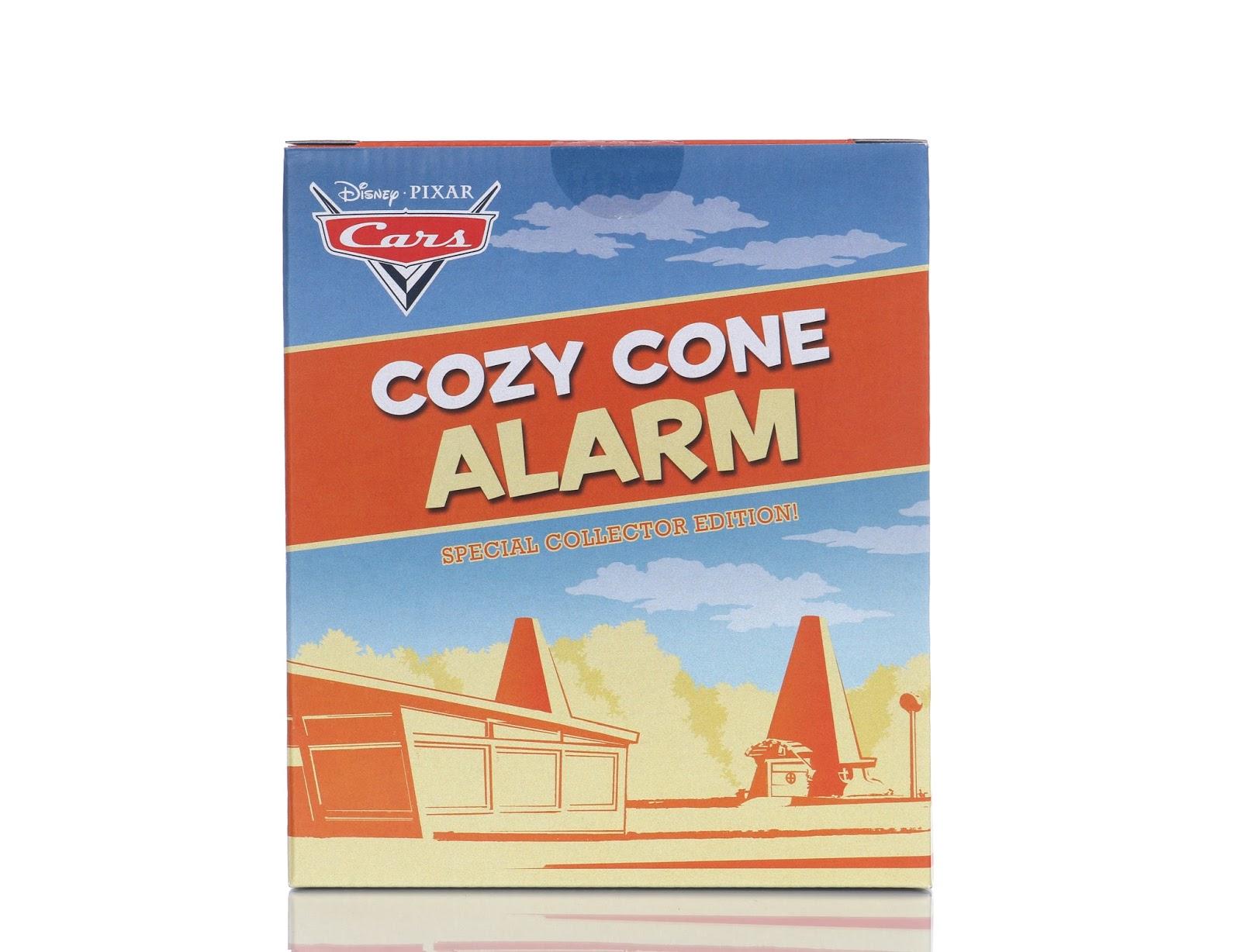 cars cozy cone alarm clock mattel d23 expo