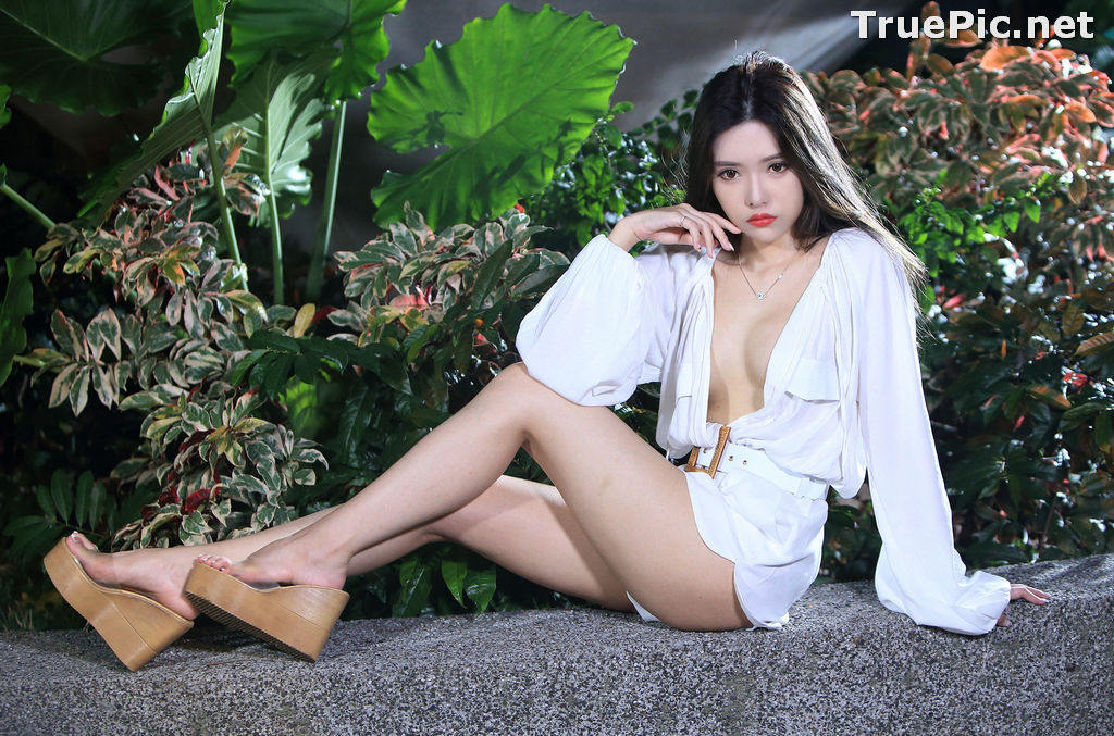 Image Taiwanese Model – 莊舒潔 (ViVi) – Sexy and Pure Baby In Night - TruePic.net - Picture-85