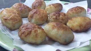 Fried Baby Potatoes - Dum Aloo