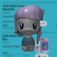 My Little Pony Maud Pie Cutie Mark Crew Render from Quidd
