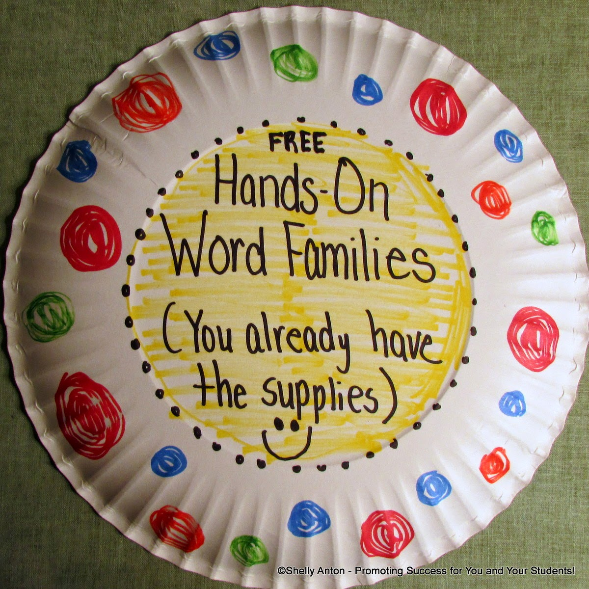 small resolution of Promoting Success: Word Family Activities for Kids