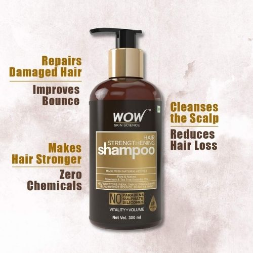 Wow Hair Strengthening Shampoo
