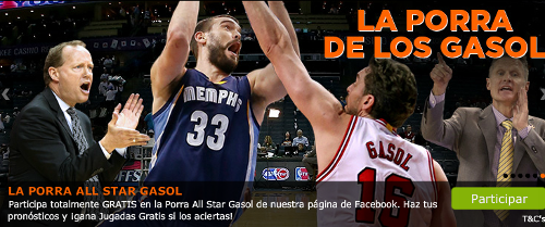 888sport porra gasol gana hasta 10 euros gratis all star nba facebook