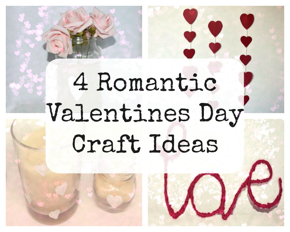4 romantic valentines day craft ideas whimsical mumblings for Romantic ideas for valentines day