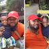 Actor, Prince Eke celebrates 3rd birthday of his twin children with Muma Gee